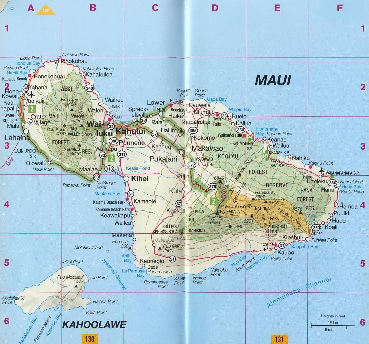 Hawaii The Island Of Oahu